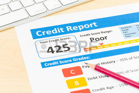 poor credit score