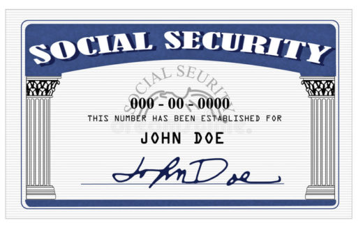 social security card john doe