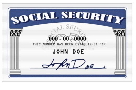 social security card john doe